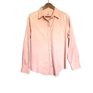 LL Bean Light Pink Button Down Oxford Shirt